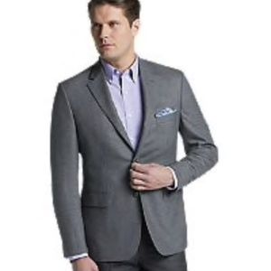 Jos A. Banks | Gray Tailored Fit Sportcoat 44L